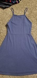 Copper Key Blue Halter Dress